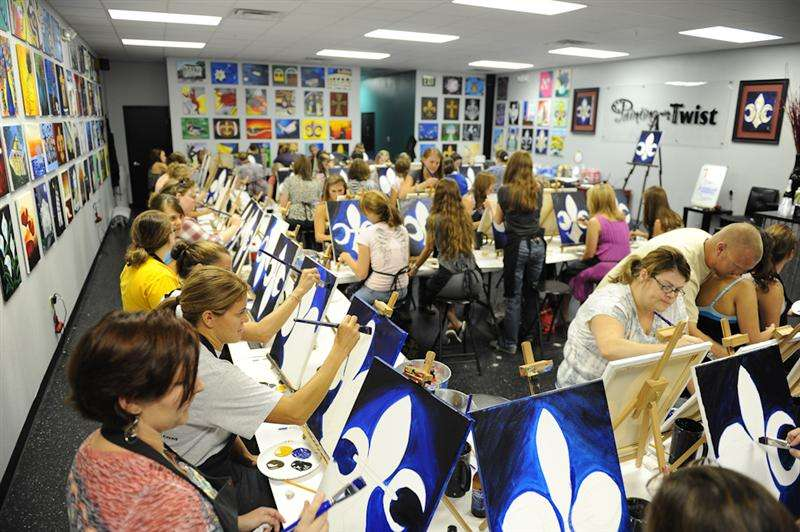 Painting With A Twist in Shreveport, LA