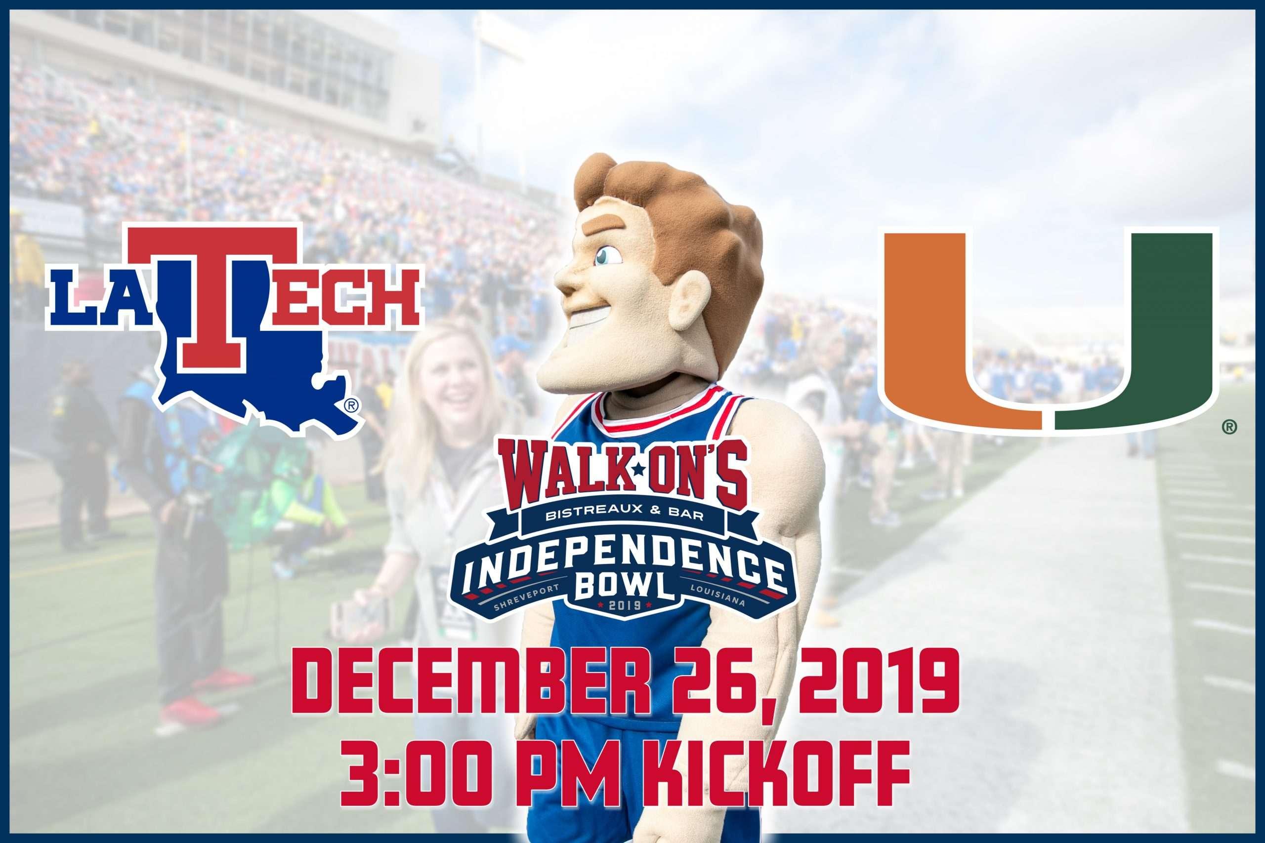 LA Tech vs. Miami - Independence Bowl